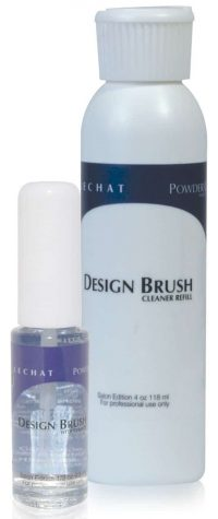 Design brush cleaner containers.