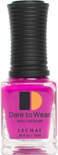 half ounce bottle of pink dare to wear lacquer