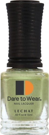 half fluid ounce bottle of grey Dare to Wear lacquer.