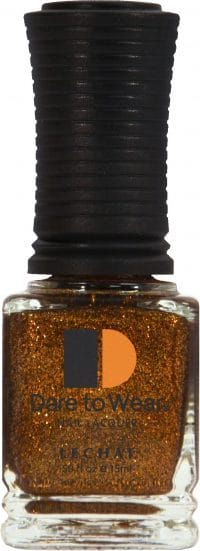 half fluid ounce bottle of bronze Dare to Wear lacquer.