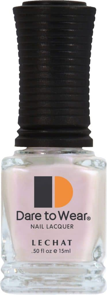 half fluid ounce bottle of light pink Dare to Wear lacquer.