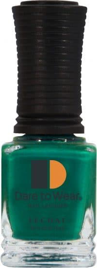 half fluid ounce bottle of green Dare to Wear lacquer.
