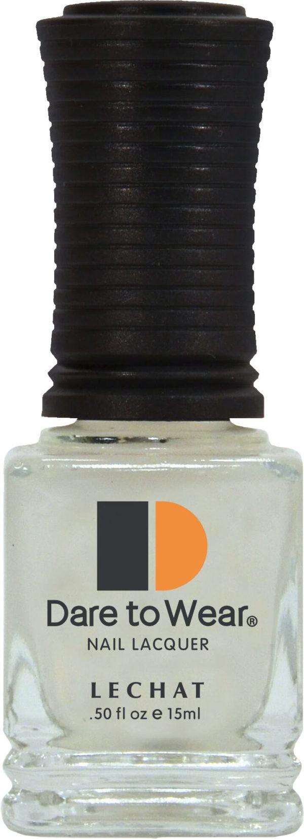 half fluid ounce bottle of clear base coat.