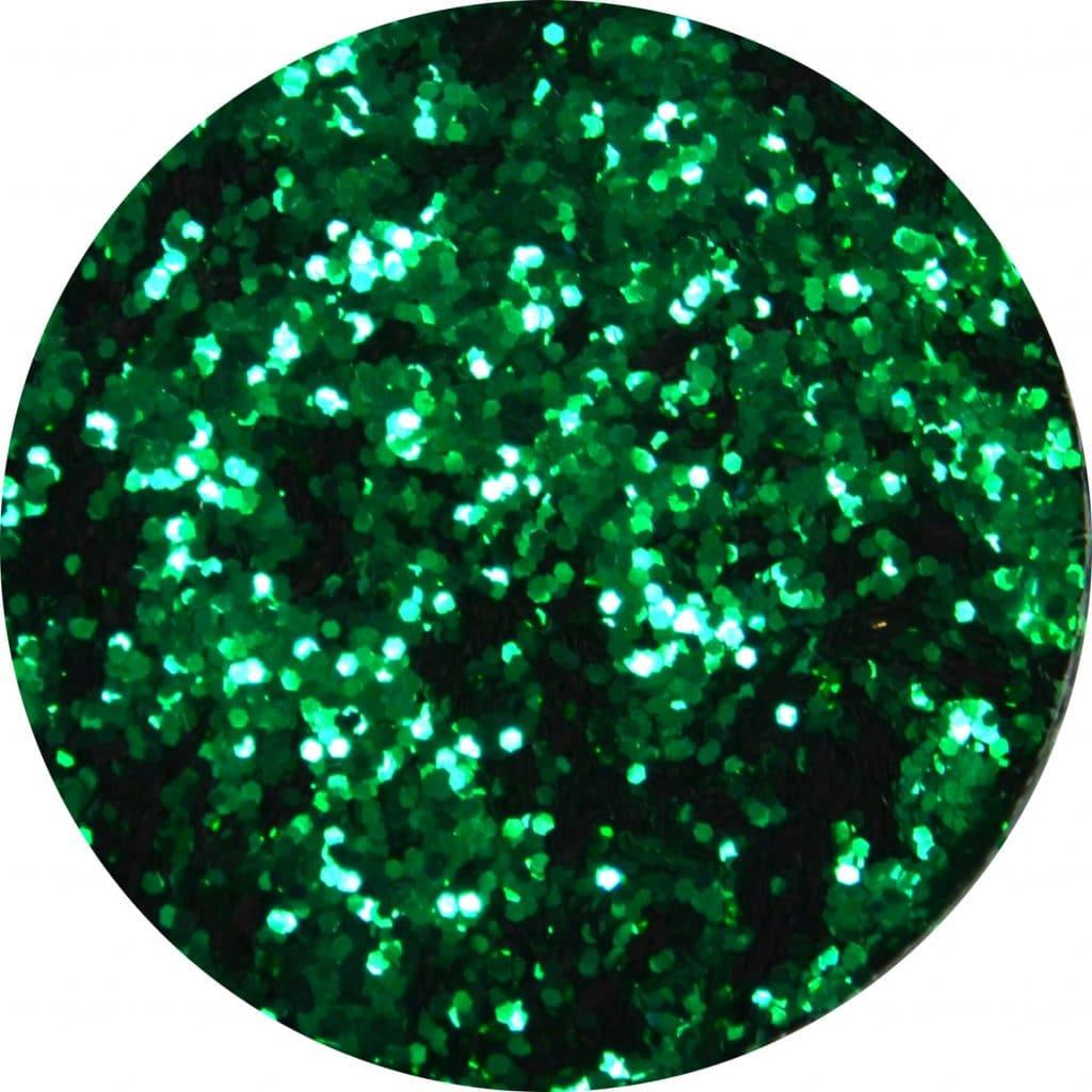 dark green color sample.