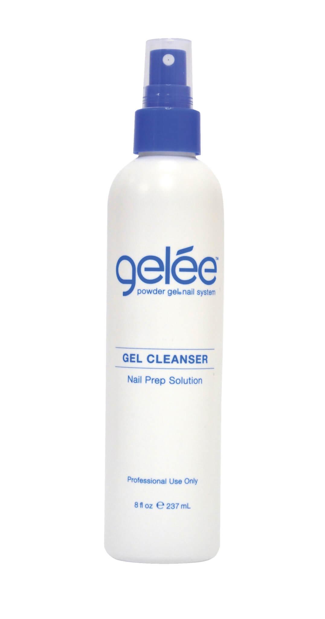 gelée gel cleanser product bottle.
