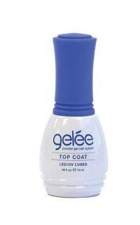 gelée top coat product bottle.