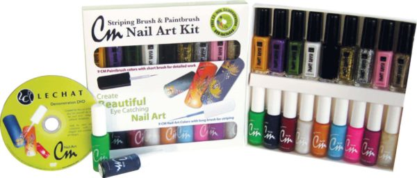 CM nail art kit set.
