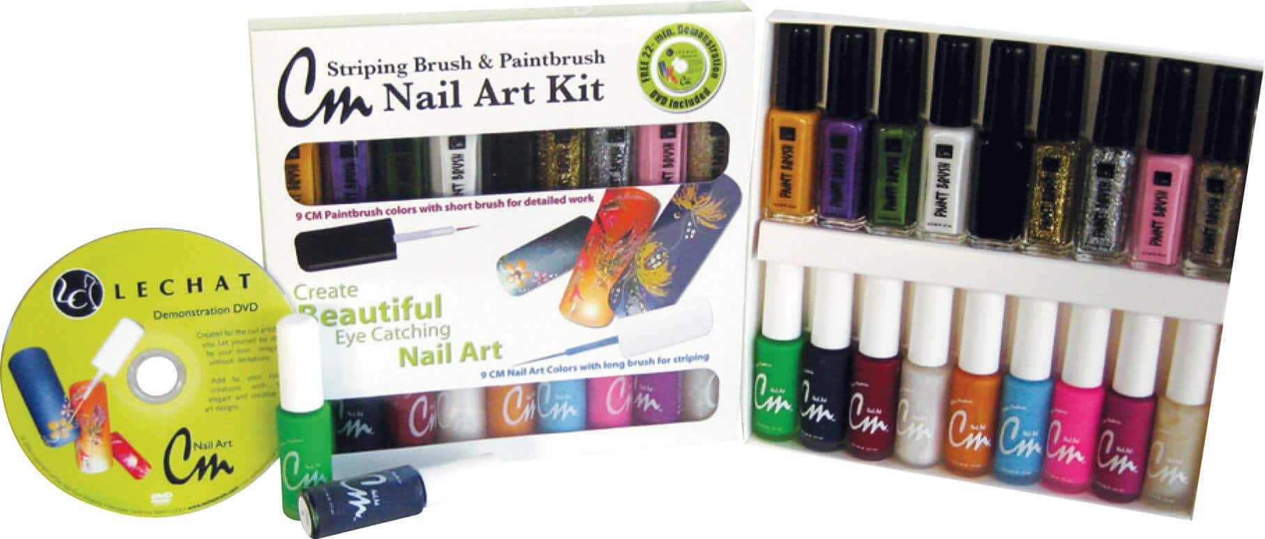 CM - Nail Art - Kit | LeChat Nails