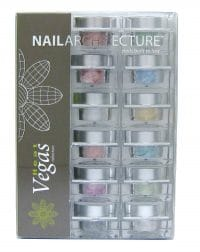 Nail Architecture Vegas Heat dip powder collectioin set.