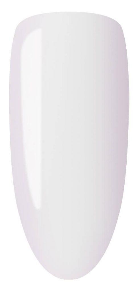 whitecolor sample on nail tip.