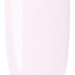 light pink pink color sample on nail tip.