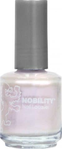 half liquid ounce bottle of white nobility lacquer.