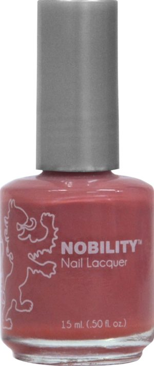 half liquid ounce bottle of red nobility lacquer.