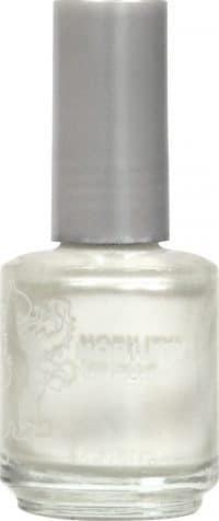 half liquid ounce bottle of pearl nobility lacquer.