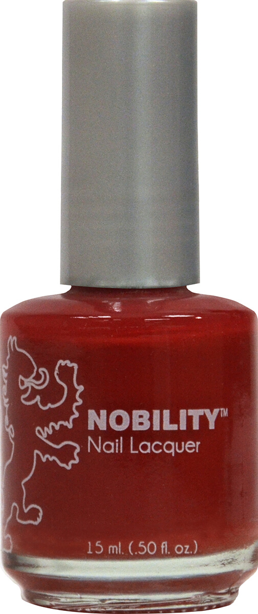Nobility Nail Lacquer - Rich Red | LeChat Nails