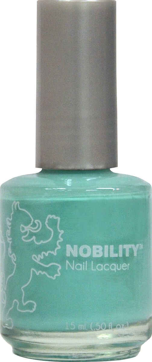 Nobility Nail Lacquer - Turquoise Sky | LeChat Nails