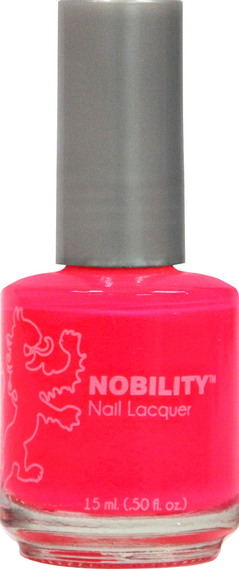 Nobility Nail Lacquer - Hot Pink | LeChat Nails