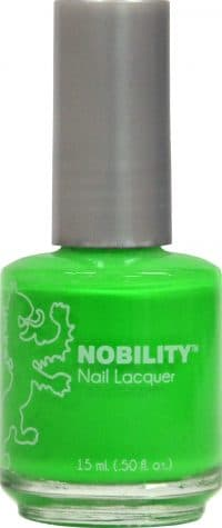 half liquid ounce bottle of green nobility lacquer.