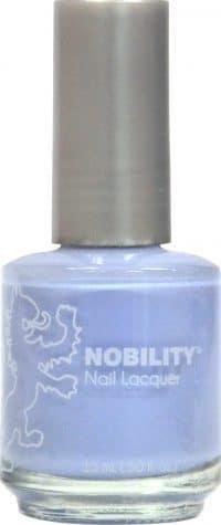 half liquid ounce bottle of blue nobility lacquer.