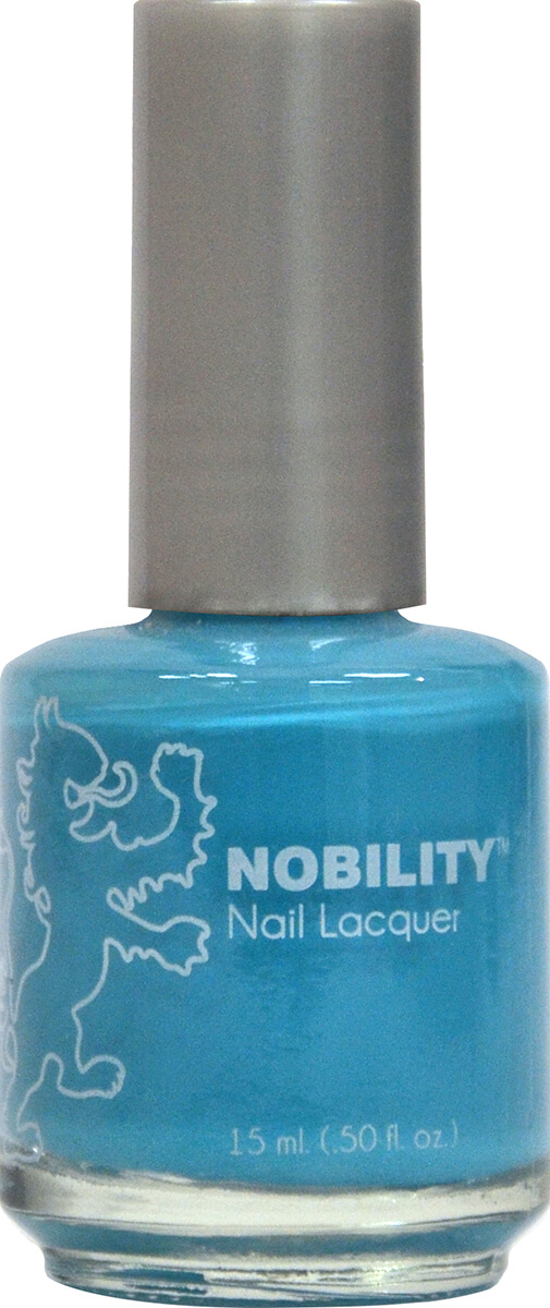 Nobility Nail Lacquer Costa Rica Blue Lechat Nails