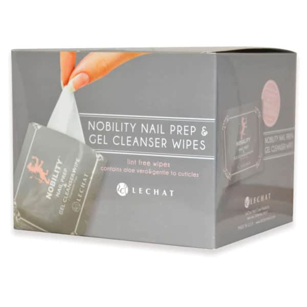 box for the Nobility gel cleanser wipes.