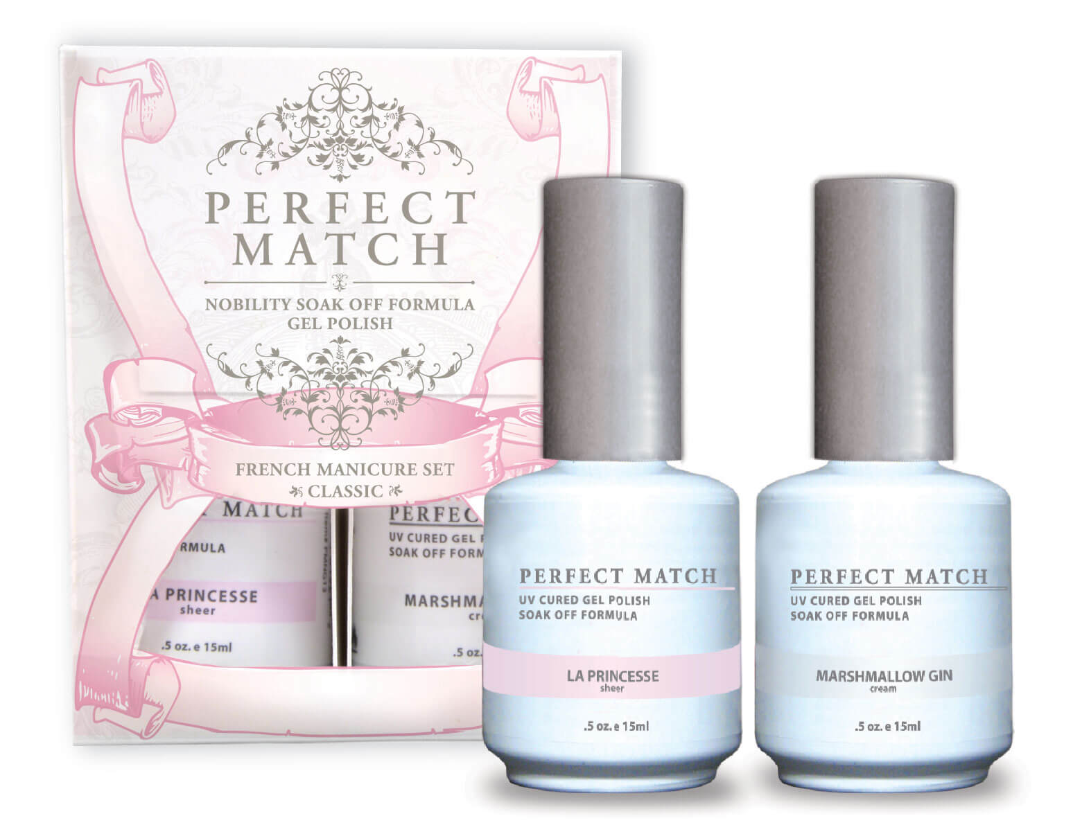 Perfect Match - French Manicure Set Classic | LeChat Nails
