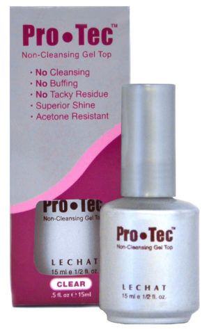 half fluid ounce bottle of ProTec non-cleansing gel top with box.