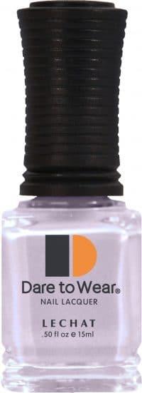 half fluid ounce bottle of light purple Dare to Wear lacquer.