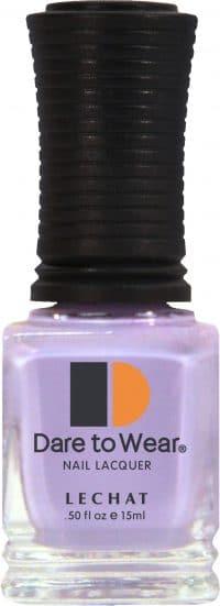 half fluid ounce bottle of purple Dare to Wear lacquer.