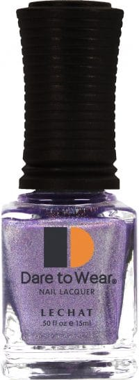 half fluid ounce bottle of purple Dare to Wear lacquer.