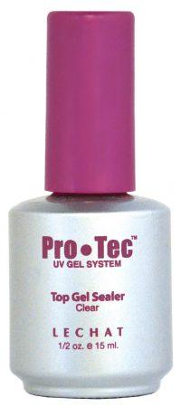 half fluid ounce bottle of ProTec UV top gel sealer.