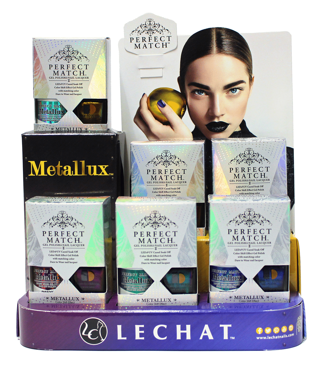 set of Perfect Match Metallux products