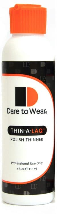 Dear to Wear Thin-a-Laq product bottle.