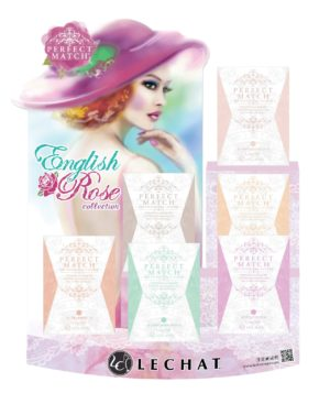 English Rose promo showing various colors of Perfect Match sets