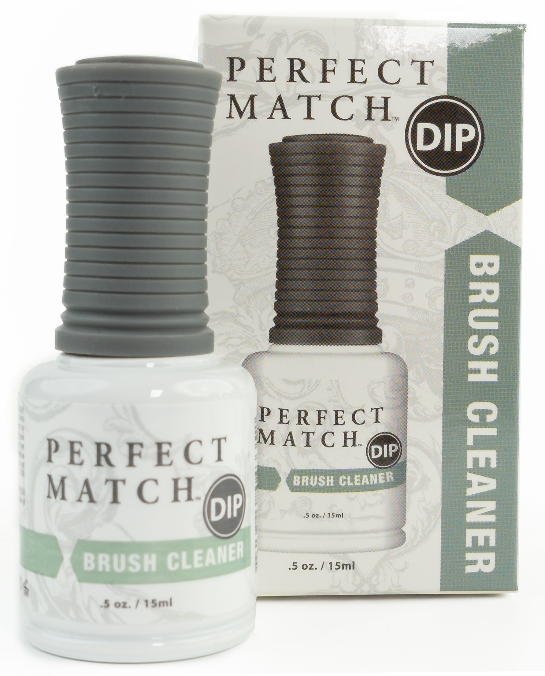 brush cleaner container and box