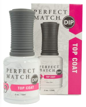 top coat container and box