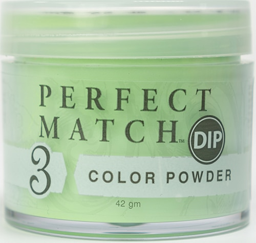 42 gram container of green Perfect Match dip.