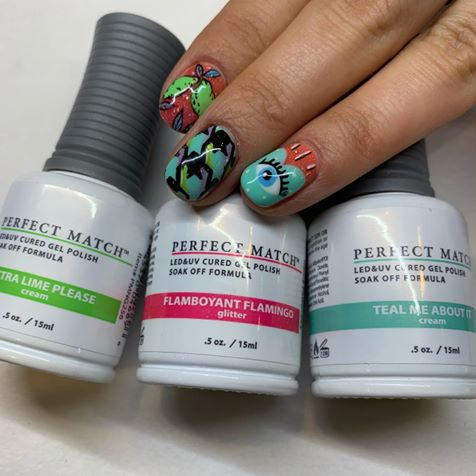Colorful Moments Premier Orlando Demo Nails
