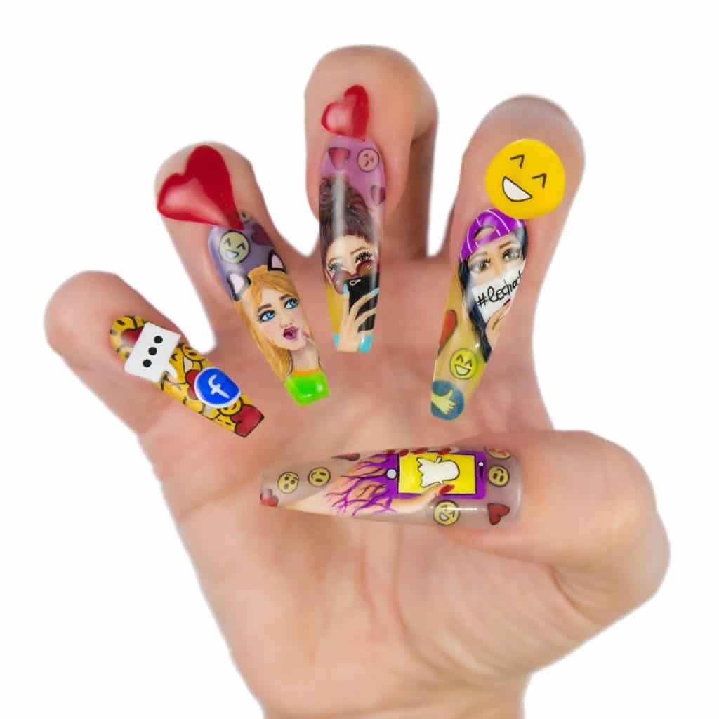 Stella Sampson - LeChat Nails Perception NTNA 2019 Challenge