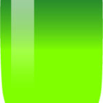 green to light green nail color