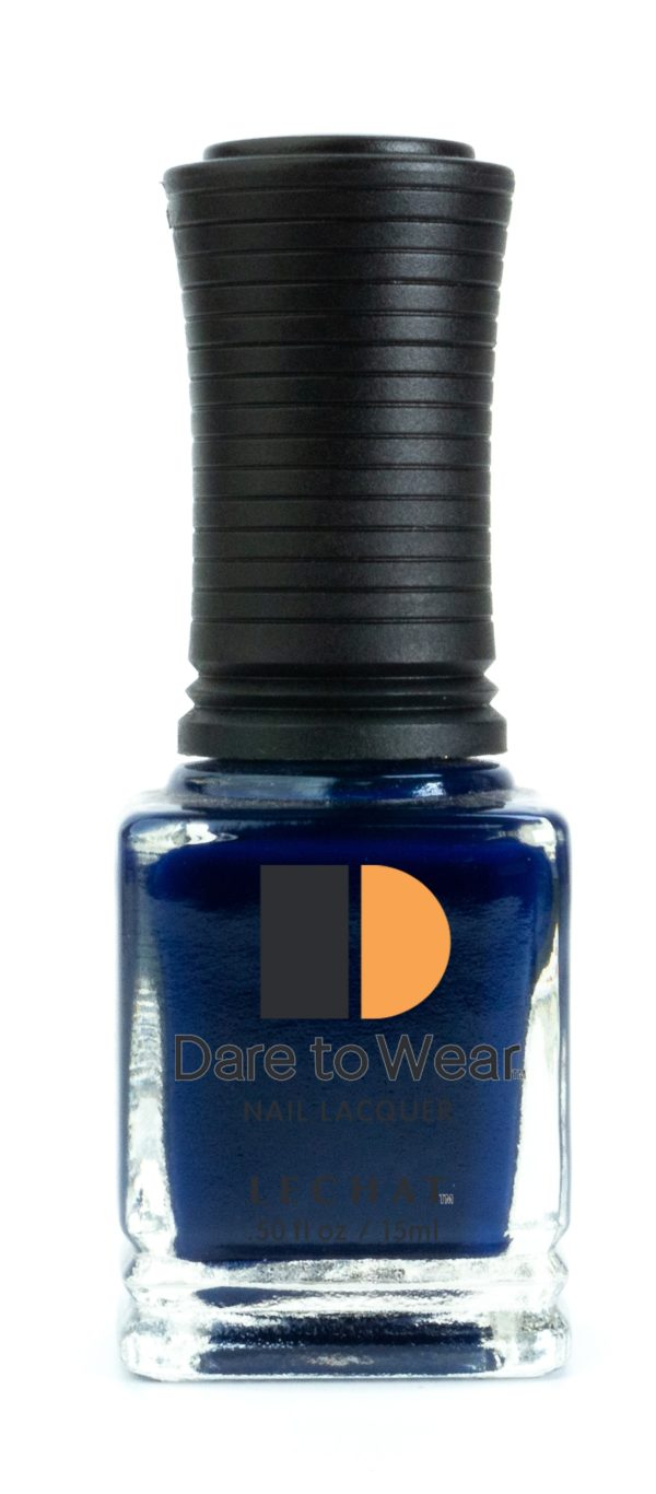 half ounce bottle of blue Dare to Wear Goodnight Moon
