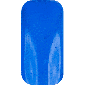 Blue translucent nail tip