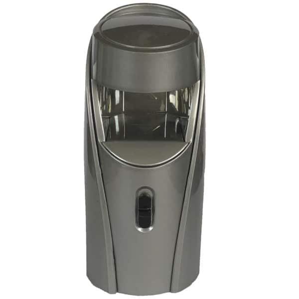 gray one finger LED lamp