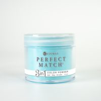 42 gram jar of Perfect Match Powder Splash of Teal
