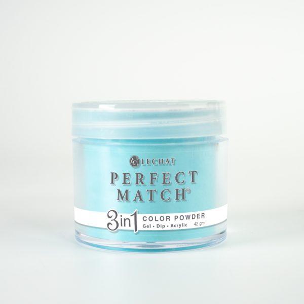 42 gram jar of Perfect Match Powder Splash of Teal