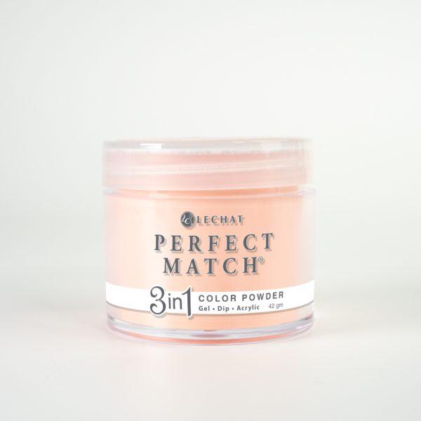 42 gram jar of Perfect Match Powder California Coral
