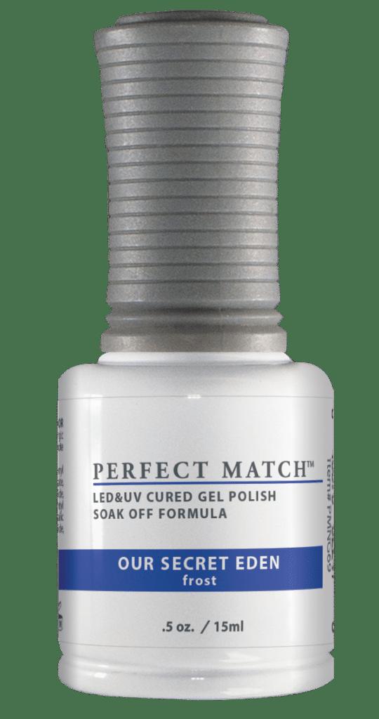 half ounce bottle of Perfect Match Gel Polish