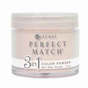 42 gram container of beige Perfect Match dip.