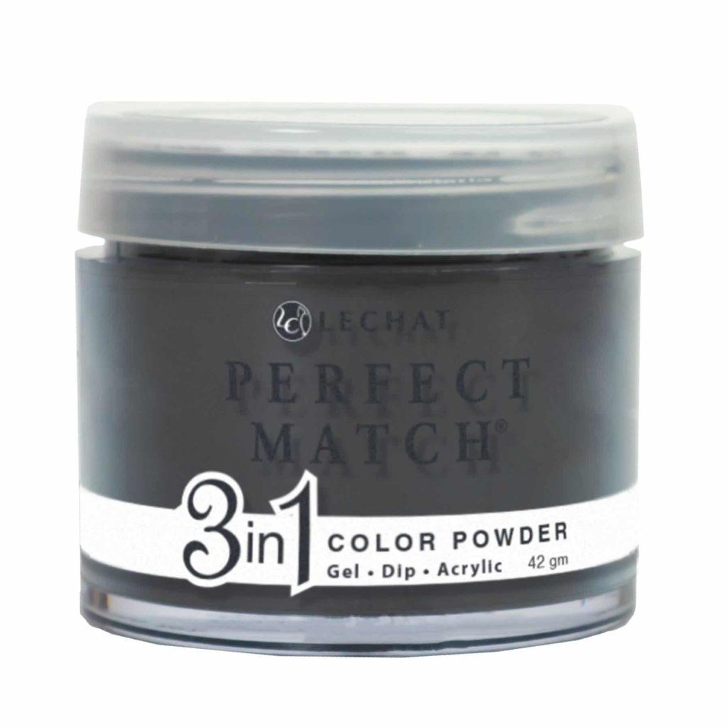 42 gram container of black Perfect Match dip.