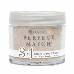 42 gram container of gold Perfect Match dip.